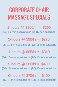chair massage watertown ma