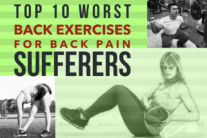 back exercises for back pain